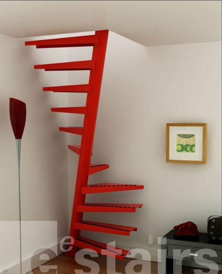 スタイリッシュでデンジャラスな階段の写真1