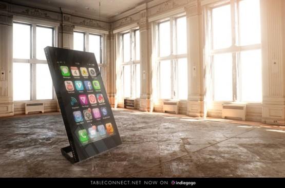 すごい!スマホ・タブレット連動の液晶パネルテーブルの写真2