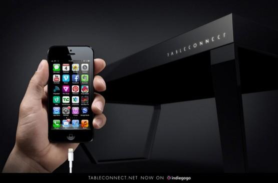 すごい!スマホ・タブレット連動の液晶パネルテーブルの写真4