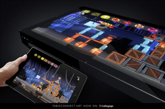 すごい!スマホ・タブレット連動の液晶パネルテーブルの写真3